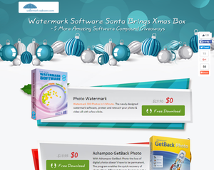 Watermark Software Santa Brings X Christmas Box