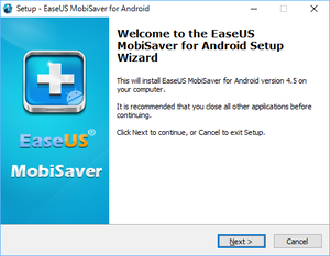 EaseUS Mobisaver for Android セットアップ