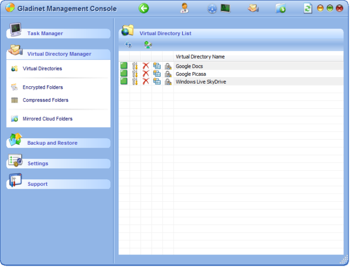 Virtual Directory Manager