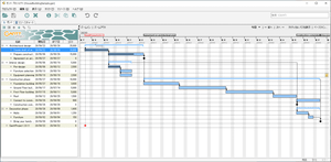 ganttprojectの評価 使い方 フリーソフト100