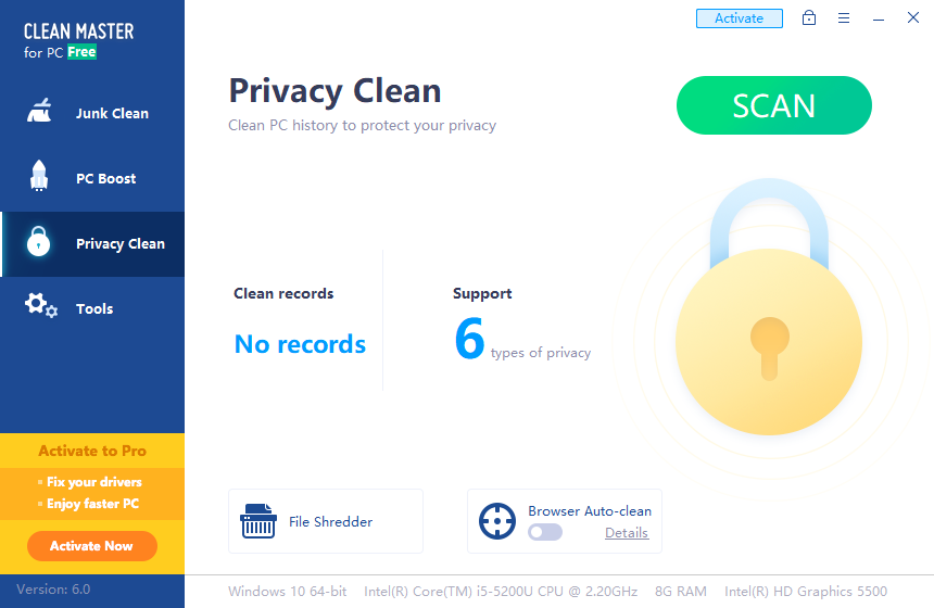Privacy Clean