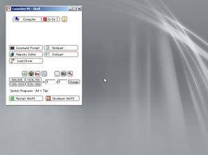 製品版パッケージの Windows XP のフロッピー  …