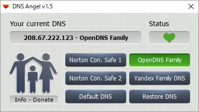 OpenDNS Family