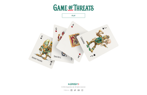 Game Of Threats by Kaspersky Lab のスクリーンショット
